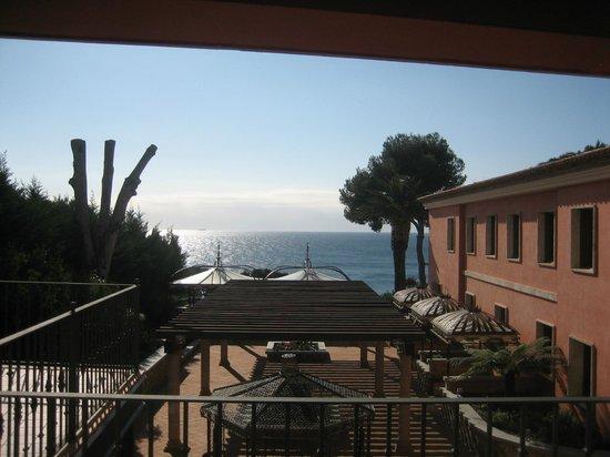 Salles Hotel & Spa Cala del Pi: vue de la terrasse de la chambre
