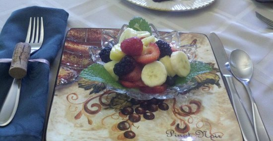 Steeles Tavern Manor Bed and Breakfast: WONDERFUL FRESH FOOD!