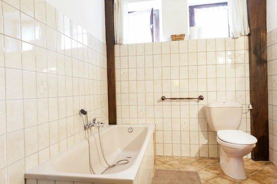 La Montagne Verte : salle de bain chambre iris