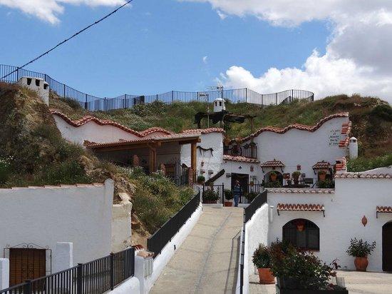 Visita Guadix: Jose's cueva with the mirador on top