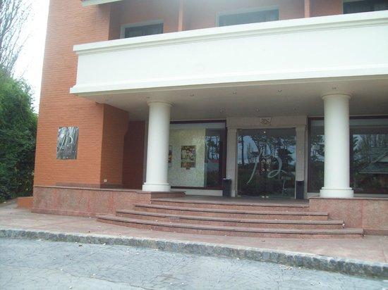 Barradas Parque Hotel & Spa: la entrada al hotel , donde siempre te reciben amablemente