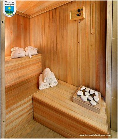Sauna Seco Sector De Spa Picture Of Terrazas De Belgrano
