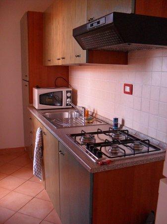 Residence Tanca Della Torre: coin cuisine