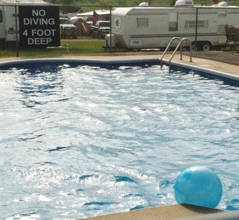 Pocono Raceway Campground: Pool