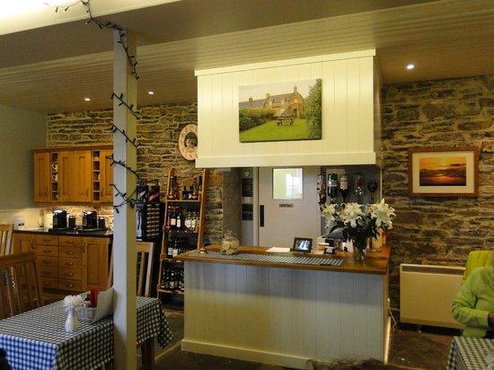 The Smithy: Interior del restaurante