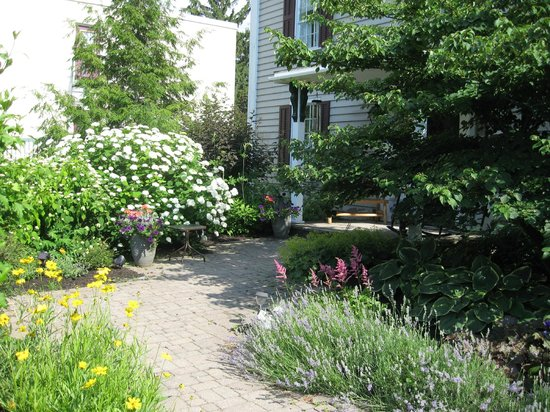 Sweet Magnolia House B&B: Gardens