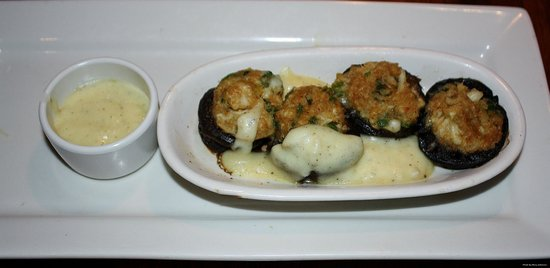 Outback Steakhouse: Crab Stuffed Mushrooms