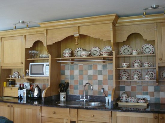 Hope Barton Barns: kitchen
