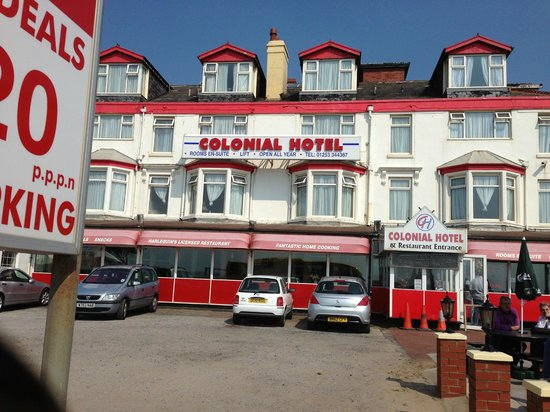 Colonial Hotel Blackpool