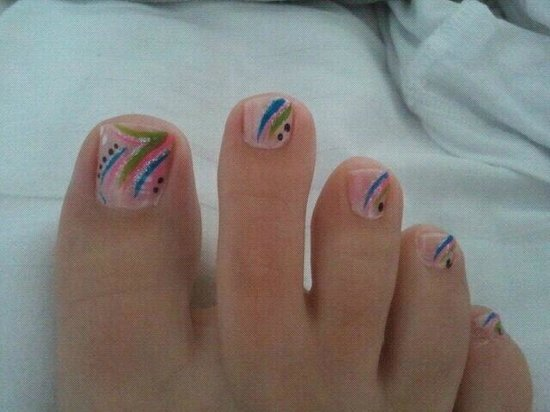 Z - Touch Day Spa: Holiday Toes...