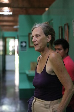 Amazon Explorama Lodges: Dr. Linnea Smith at the clinic she founded
