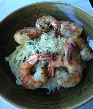 Severn Inn: Shrimp and Pasta