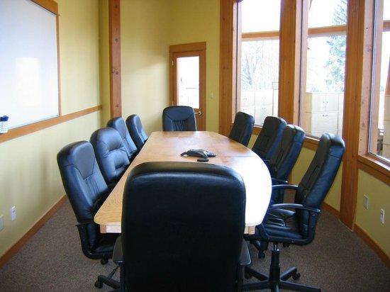 Squamish Adventure Centre: Boardroom for rent at the Adventure Centre