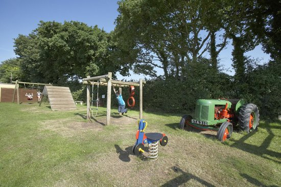 Play area at Leadstone Camping