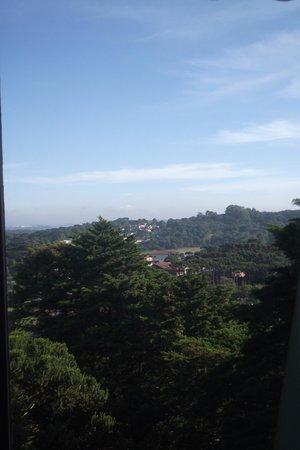 Hotel Continental Canela: vista da janela do 5º andar