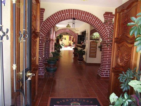 Hotel Maria Angelina : Entrada