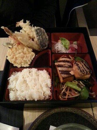 Seito Restaurant Sushi & Grill : bento
