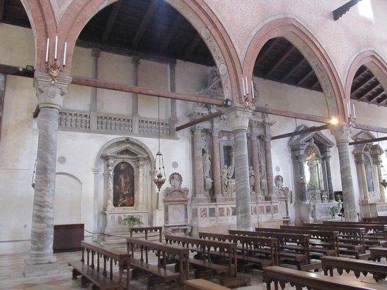 Chiesa della Madonna dell'Orto: Marble work