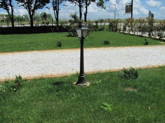 La Piccola Lanterna: giardino