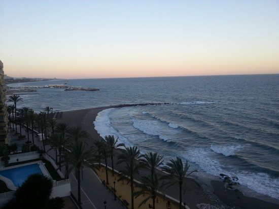 Princesa Playa Hotel Apartamentos: view from our room at sunset