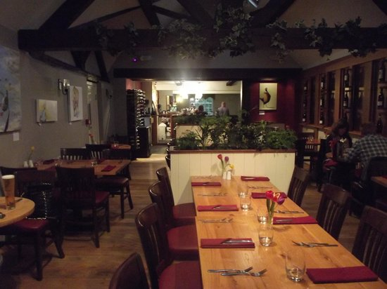 The Nags Head: The restaurant