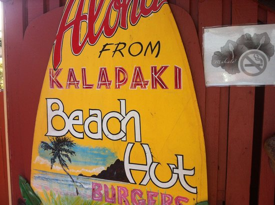 Kalapaki Beach Hut : Great Breakfast Place