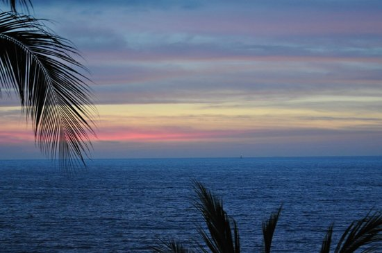 Vallarta Shores: Evening Sunset from Penthouse A