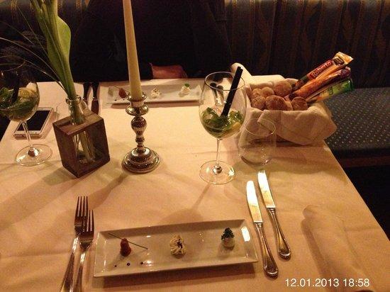 Lacknerstube : schöne Tischdeko