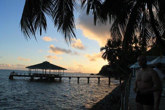 Coco de Mer - Black Parrot Suites: Fisherman's warf in the sunset