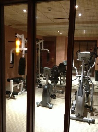 Hotel Royal William: salle d'exercise