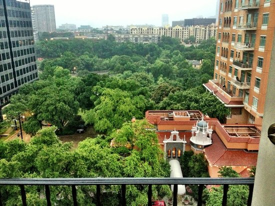 Rosewood Mansion on Turtle Creek: View from room 908 executive suite