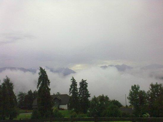 Berggasthof Ploerr: Anche con le nubi basse è meraviglioso