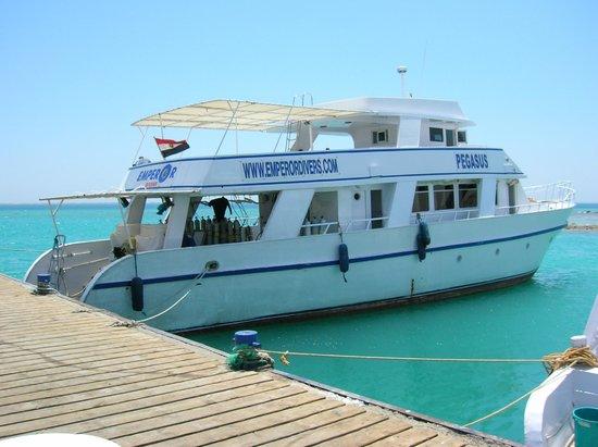 Emperor Divers Hurghada - Day Tours : Duiken met de boot