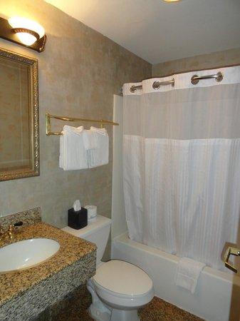 Tazewell Hotel & Suites: Bathroom