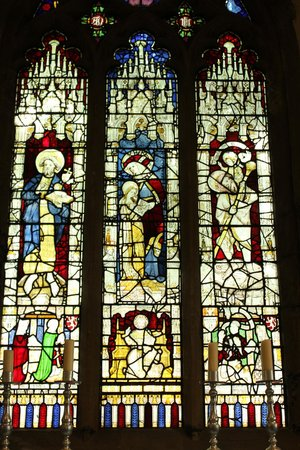 All Saints Church: one of the windows