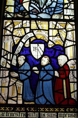 All Saints Church: a small detail