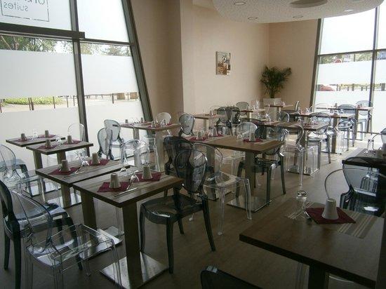 Seven Urban Suites Nantes Centre : Breakfast area