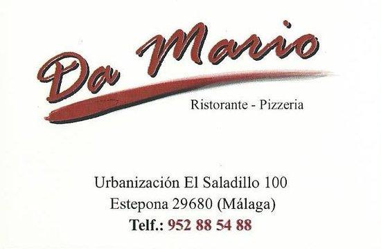 Da Mario: Card