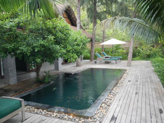 An Lam Ninh Van Bay Villas: Your own private pool
