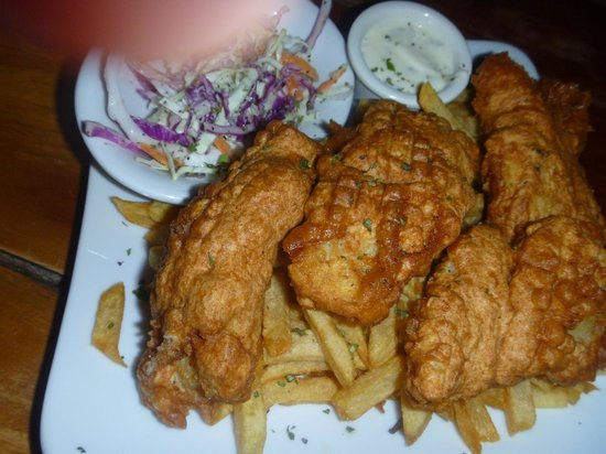 Mike's Global Grill : The yummy fish and chips