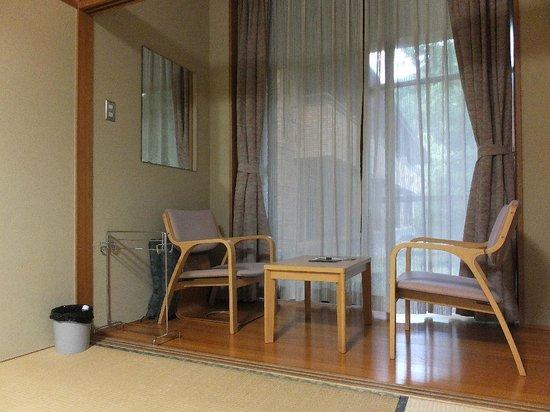 Sennomori : 2日間泊まった和室、必要充分です