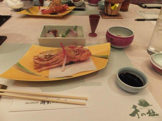 Sennomori : 1日目夕食の一部