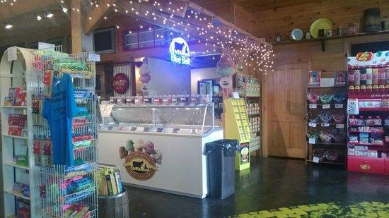 Candyland Cottage & Ice Cream Shoppe: Ice Cream too!