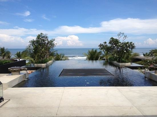 Soori Bali: view from lobby