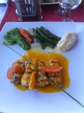 Restaurant Le Tapis Rouge By Little Norway: sole aux 3 agrumes