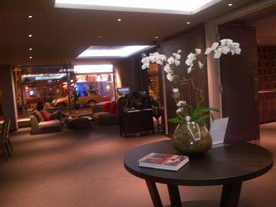 Hotel Xanadu: Bar area