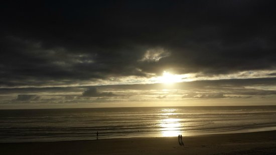 Surfside Resort: Just as the sun was beginning to set