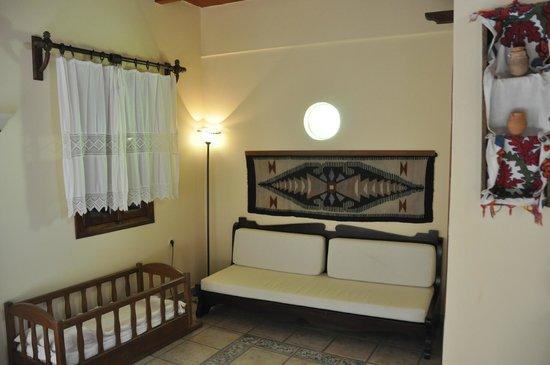 Veneto Boutique Hotel: sitting room / kitchenette