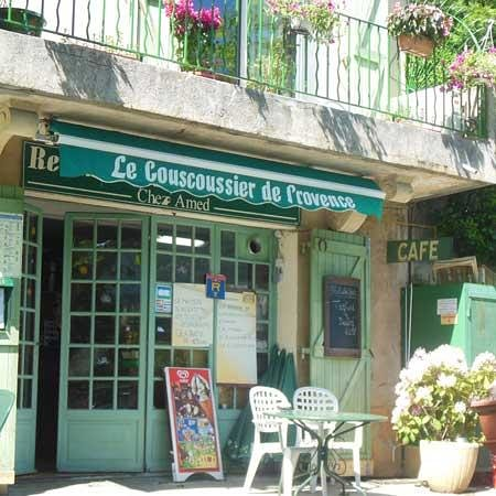 Le Couscoussier de Provence: so locally owned that the chef might live upstairs