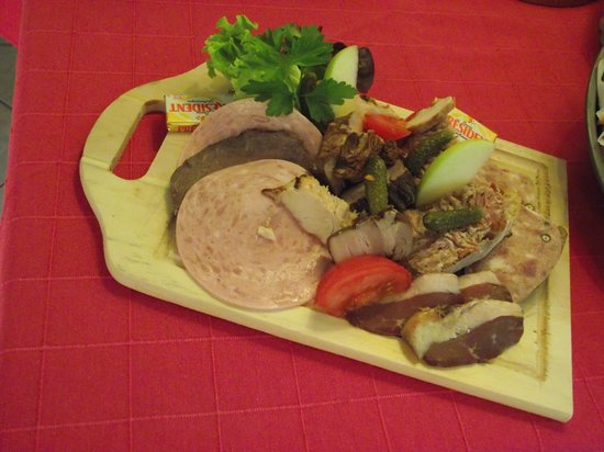 La Doucette: planchette